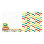 Bo Bunny - Our Lil Monster Collection - 12 x 12 Double Sided Paper - Rawr