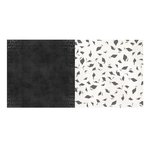 BoBunny - Pop Quiz Collection - 12 x 12 Double Sided Paper - Chalkboard