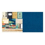 BoBunny - Pop Quiz Collection - 12 x 12 Double Sided Paper - Hall Pass