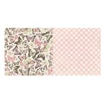 Bo Bunny - Primrose Collection - 12 x 12 Double Sided Paper - Bliss