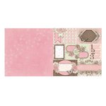 BoBunny - Primrose Collection - 12 x 12 Double Sided Paper - Breathtaking