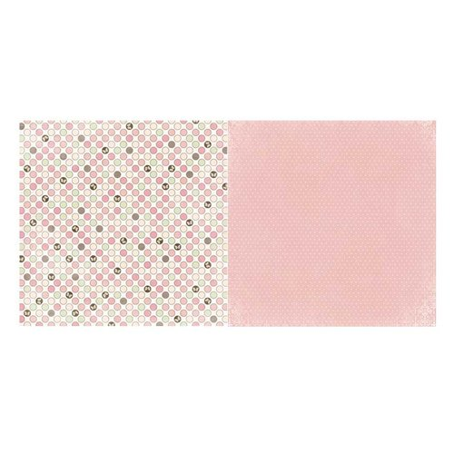 BoBunny - Primrose Collection - 12 x 12 Double Sided Paper - Dot