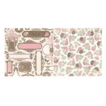 BoBunny - Primrose Collection - 12 x 12 Double Sided Paper - Garden