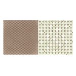 Bo Bunny - Primrose Collection - 12 x 12 Double Sided Paper - Gate