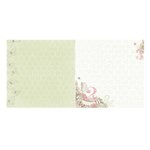 Bo Bunny - Primrose Collection - 12 x 12 Double Sided Paper - Memories