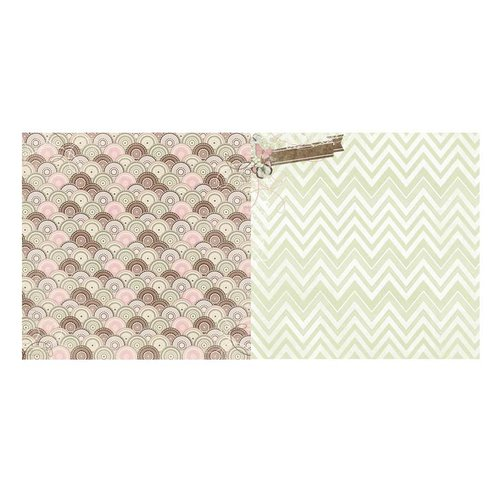 BoBunny - Primrose Collection - 12 x 12 Double Sided Paper - Place