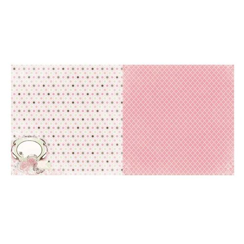BoBunny - Primrose Collection - 12 x 12 Double Sided Paper - Time Washed