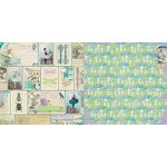 BoBunny - Enchanted Garden Collection - 12 x 12 Double Sided Paper - Fairies