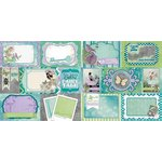 BoBunny - Enchanted Garden Collection - 12 x 12 Double Sided Paper - Pixies
