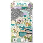 Bo Bunny - Enchanted Garden Collection - Noteworthy Journaling Cards