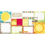 BoBunny - Lemonade Stand Collection - 12 x 12 Double Sided Paper - Clear Skies