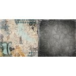 BoBunny - Somewhere In Time Collection - 12 x 12 Double Sided Paper - Chrononaut