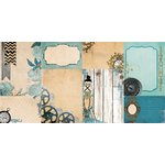 Bo Bunny - Somewhere In Time Collection - 12 x 12 Double Sided Paper - Timeless