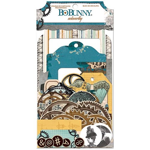 Bo Bunny - Somewhere In Time Collection - Noteworthy Journaling Cards