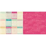 Bo Bunny - Candy Cane Lane Collection - Christmas - 12 x 12 Double Sided Paper - Holiday
