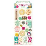 BoBunny - Candy Cane Lane Collection - Christmas - Buttons