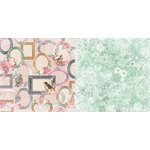 BoBunny - Madeleine Collection - 12 x 12 Double Sided Paper - Allure