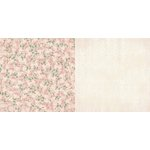 Bo Bunny - Madeleine Collection - 12 x 12 Double Sided Paper - Elegance