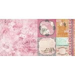 Bo Bunny - Madeleine Collection - 12 x 12 Double Sided Paper - Grace