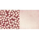 BoBunny - Madeleine Collection - 12 x 12 Double Sided Paper - Roses