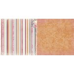 BoBunny - Madeleine Collection - 12 x 12 Double Sided Paper - Stripe