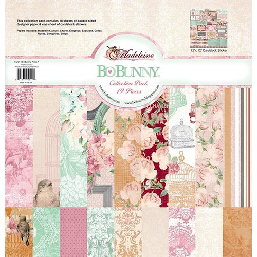 BoBunny - Madeleine Collection - 12 x 12 Collection Pack