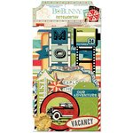 Bo Bunny - Souvenir Collection - Noteworthy Journaling Cards