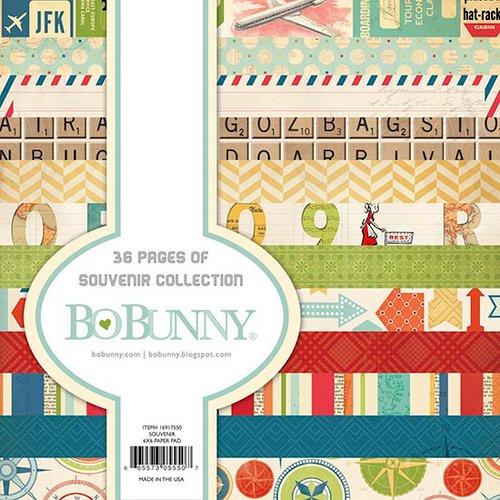 BoBunny - Souvenir Collection - 6 x 6 Paper Pad