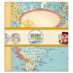 BoBunny - Souvenir Collection - Misc Me - 8 x 9 Binder