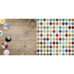 BoBunny - Wild Card Collection - 12 x 12 Double Sided Paper - Billiards