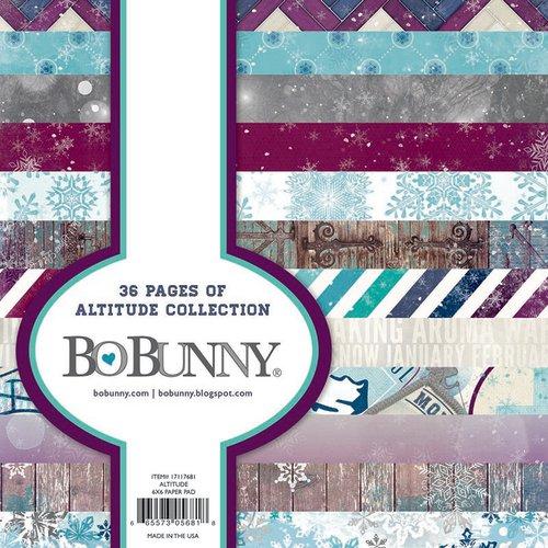 Bo Bunny - Altitude Collection - Christmas - 6 x 6 Paper Pad