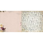 BoBunny - Rose Cafe Collection - 12 x 12 Double Sided Paper - Rose Cafe