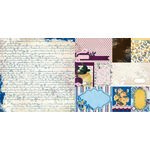 BoBunny - Rose Cafe Collection - 12 x 12 Double Sided Paper - Dreamers