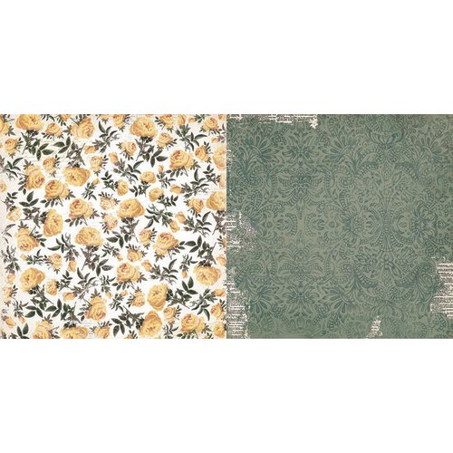BoBunny - Rose Cafe Collection - 12 x 12 Double Sided Paper - Garden