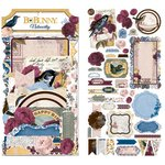 BoBunny - Rose Cafe Collection - Noteworthy Journaling Cards