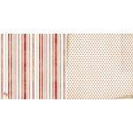Bo Bunny - Star-Crossed Collection - 12 x 12 Double Sided Paper - Stripe