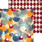 BoBunny - Carnival Collection - 12 x 12 Double Sided Paper - Fun House