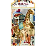 Bo Bunny - Carnival Collection - Noteworthy Journaling Cards