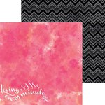BoBunny - Forever Young Collection - 12 x 12 Double Sided Paper - Love