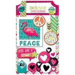 BoBunny - Forever Young Collection - Layered Chipboard Stickers