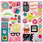 Bo Bunny - Forever Young Collection - Chipboard Stickers