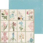 BoBunny - Garden Journal Collection - 12 x 12 Double Sided Paper - Notebook