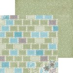 BoBunny - Garden Journal Collection - 12 x 12 Double Sided Paper - Pastel