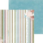BoBunny - Garden Journal Collection - 12 x 12 Double Sided Paper - Stripe