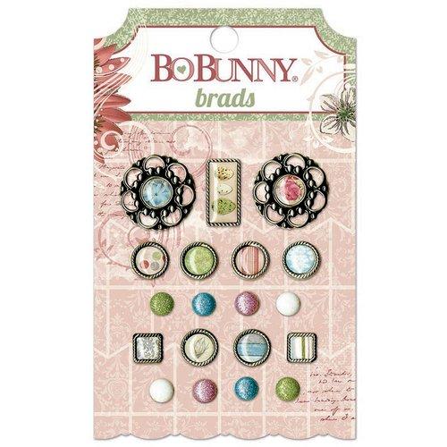 Bo Bunny - Garden Journal Collection - Brads
