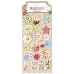 Bo Bunny - Garden Journal Collection - Buttons
