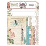 Bo Bunny - Garden Journal Collection - Misc Me - Pocket Contents