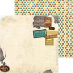 BoBunny - Safari Collection - 12 x 12 Double Sided Paper - Safari