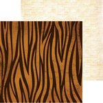 BoBunny - Safari Collection - 12 x 12 Double Sided Paper - Beasts