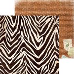 BoBunny - Safari Collection - 12 x 12 Double Sided Paper - Jungle